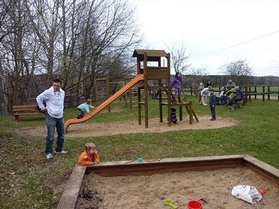 Spielplatz im Freizeitgelände Alte Ziegelei